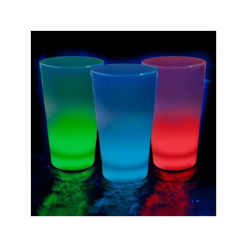 Vaso chupito luminoso de 35ml de colores variados for Vaso chupito