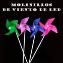 MOLINILLOS DE VIENTO DE LED