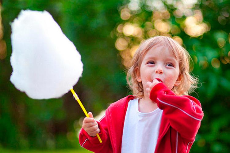 Niño Algodón de Azúcar