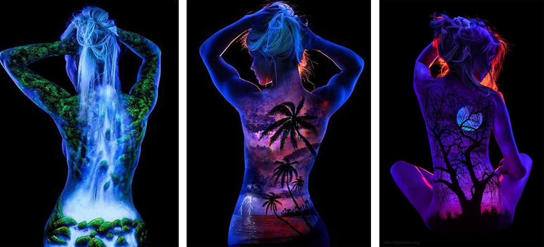 Body Painting Pintura UV