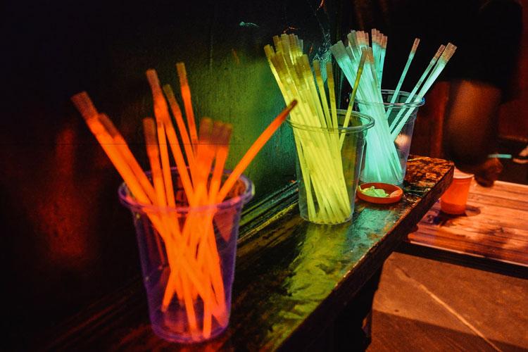 pulseras luminosas discoteca