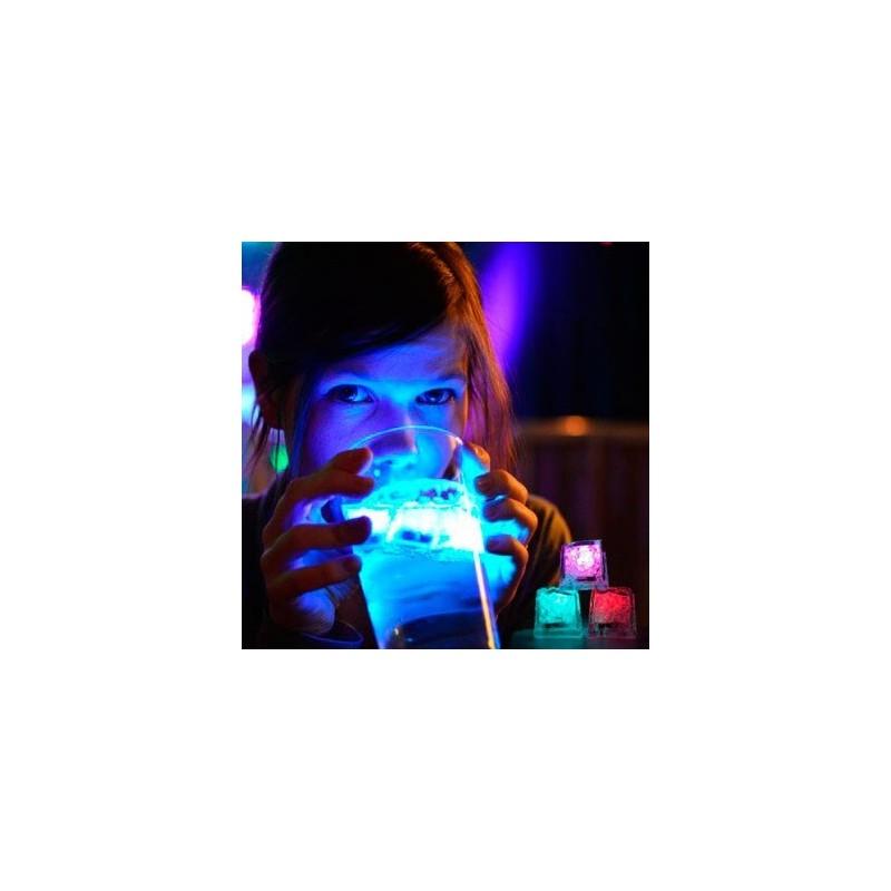 Cubito hielo luz led de alta calidad