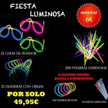 PACK FIESTA LUMINOSA