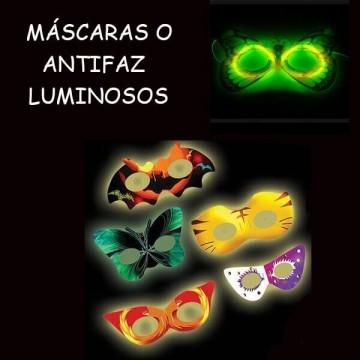 MASCARAS O ANTIFAZ LUMINOSOS