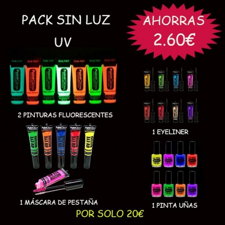 PACK SIN LUZ UV