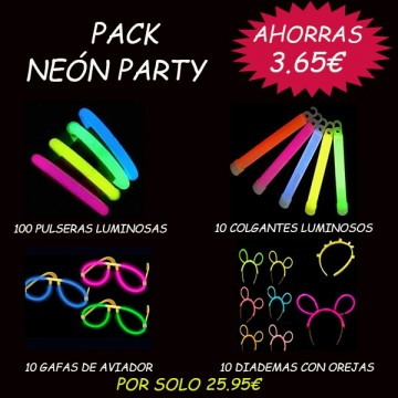 PACK NEÓN PARTY