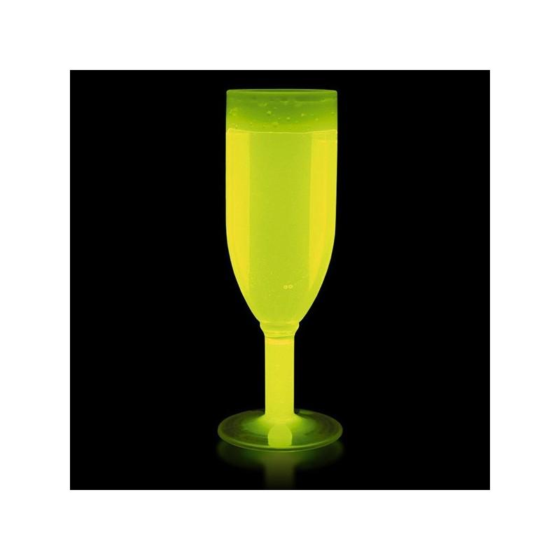Copas luminosas de champagne de 130 mililitros for Copas para champagne
