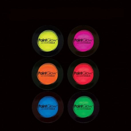 SOMBRAS Y COLORETES FLUORESCENTES UV