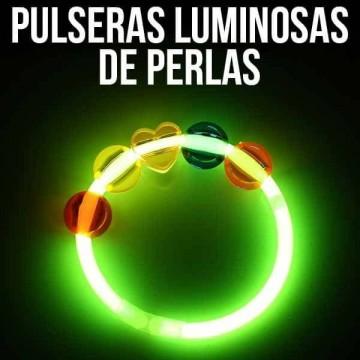 Pulseras Luminosas de Perlas (2 unidades)