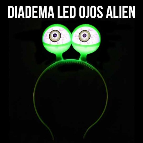 Diadema LED Alien