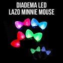 Diadema LED lazo Minnie Mouse